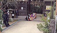 造田神社(さぬき市) - 平安期に京石清水を勧請した八幡、1000年以上続く釜鳴り神事
