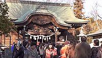 菊田神社 - 3月の「あんば様」が有名な、海路で関西から渡って来た人々が多い地域の社