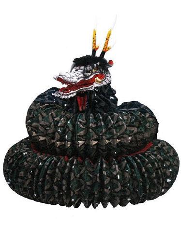 石見神楽提灯蛇胴 - スケールがパネェ島根のヤマタノオロチ神楽、現在では主流に【大古事記展】のキャプチャー