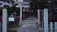 加賀神社(津幡町) - もとは諏訪社、八幡社を合併、加賀藩の名君4代藩主前田綱紀を奉斎