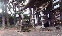 大伴神社 長野県佐久市望月