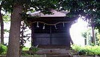 諏訪明神(座間市入谷) - 由緒不詳、御祭神は建御名方命、現在は鈴鹿明神社の兼務社
