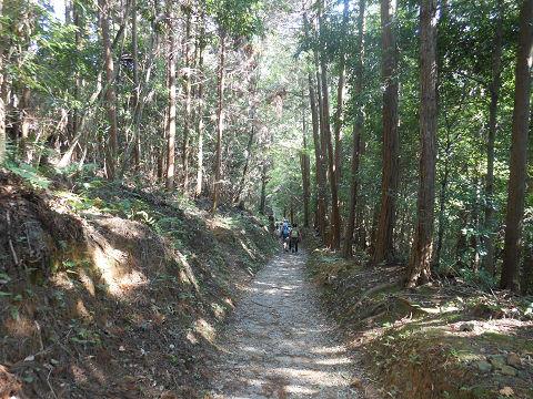 山辺の道(山の辺の道) 大神神社から檜原神社までの石畳の一角1 - ぶっちゃけ古事記