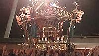 子守神社(千葉市) - 9月例大祭の神輿の幕張担ぎの勇壮さで知られる、七年祭参加の一社