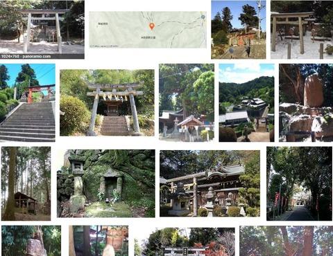 波多神社 奈良県高市郡明日香村冬野のキャプチャー