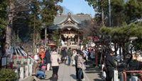 六所神社(大磯町) - 相模国の総社、クシナダを祀る女性に優しい、良縁の神様