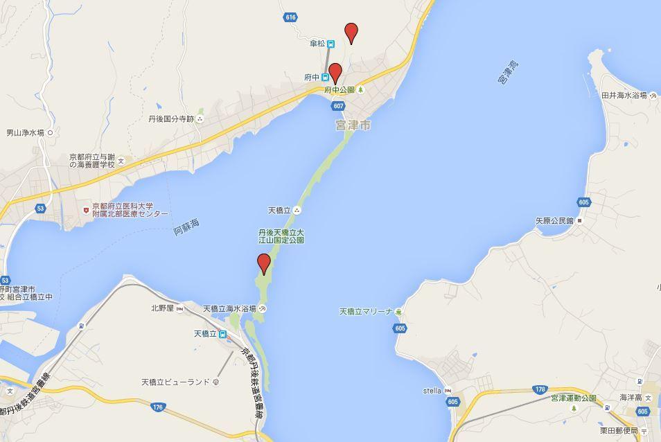 天橋立三社参り - 神秘的な日本三景の一つに点在するパワースポット古社三社を巡拝する