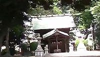 上染屋八幡社 東京都府中市白糸台