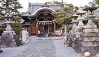 大垣八幡神社 - 南北朝期に大和国手向山八幡宮の御神体が顕現した、5月の大垣祭が有名