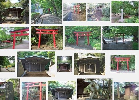 柏山稲荷神社 神奈川県藤沢市城南のキャプチャー
