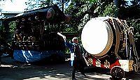 小金井神社 - 小金井の里の総鎮守である天満宮、9月下旬の例祭では山車巡行や弓道体験