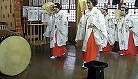 服部神社(加賀市) - 宗像神社の工女が機織り技術を伝来した式内古社、山代温泉の鎮守