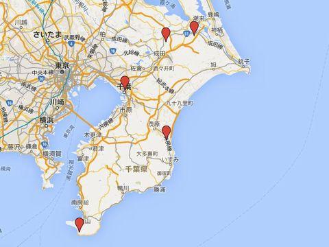 千葉県の別表神社のキャプチャー