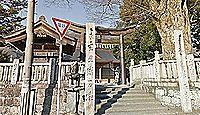 医家神社 徳島県三好市池田町マチ