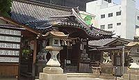 富島神社 大阪府大阪市北区中津のキャプチャー