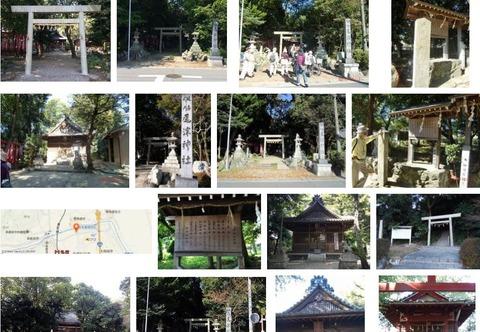 尾津神社 三重県桑名市多度町戸津のキャプチャー