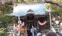 御霊神社(鎌倉市) - 左目に突き刺さった矢のエピソードが有名、9月には面掛行列を斎行