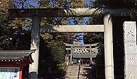 氷川神社 東京都中野区沼袋のキャプチャー