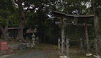 日置神社 長野県東筑摩郡生坂村北陸郷
