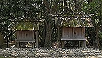 神服織機殿神社末社八所 - 神宮125社、内宮・所管社 大小八つの祠からなる八社