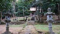 槻折神社 鳥取県鳥取市生山