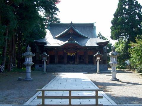 富山県黒部市の八心大市比古神社 - Wikipedia