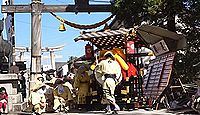 八幡神社(小浜市) - 奈良期創建、元禄期の木造鳥居、9月には若狭最大の秋祭り「放生祭」