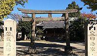 島氷川神社 東京都足立区鹿浜のキャプチャー