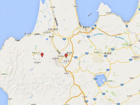 青森県の別表神社のキャプチャー