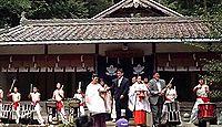 吉川八幡神社(豊能町) - 大阪吉川の総氏神、平安中期の創建、境内の清流では蛍が乱舞