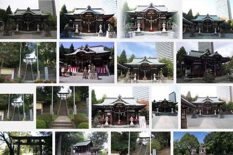 白山神社 東京都多摩市落合のキャプチャー