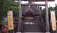 粟井神社 - 6月下旬のあじさい祭で知られる藤目山山麓、岩鍋池の畔に鎮座する名神の古社