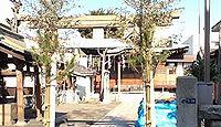 糀谷神社 東京都大田区西糀谷のキャプチャー