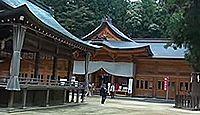 穂高神社 - 「日本アルプスの総鎮守」山の神も、御祭神は日本を代表する海神