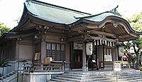 座摩巫祭神五座 いわゆる座摩神。写真は現存の関連社である坐摩神社の拝殿