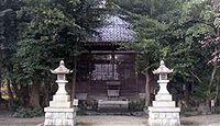 尾津神社 三重県桑名市多度町小山