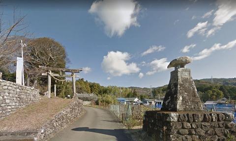 多気坂本神社 高知県安芸郡奈半利町乙のキャプチャー