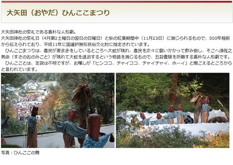 大矢田神社の祭礼「ひんここまつり」が開催、当地の根源・喪山天神社のアメノワカヒコに思い馳せのキャプチャー