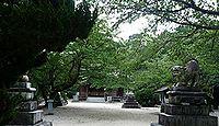 大須伎神社 - 愛媛今治、近世には村内の一末社、明治期に熊野と八幡を合祀した式内社