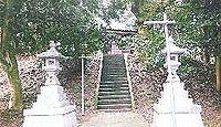 笠野神社(笠池ヶ原) - 笠野一郷18ヶ村の惣社で式内論社、現在は倶利伽羅神社が兼務