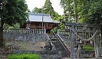 西寒田神社 - 大分市の西寒多神社の元宮とも、臼杵・豊後大野の境に鎮座する鎮国一宮