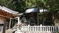 坂本神社八幡宮 岐阜県中津川市千旦林のキャプチャー
