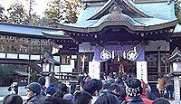 静神社 - 常陸国二宮、機織りの神で徳川光圀が社殿を修造、火災焼失後、江戸期に再建