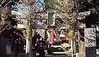 道々橋八幡神社 東京都大田区久が原1丁目のキャプチャー