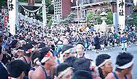 神前神社(半田市) - 子供の神様、6月に虫封じの井戸のぞき、5月には潮干祭の山車行事