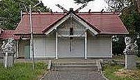 島松神社 - 北海道恵庭、明治26年に伊勢外宮を勧請、子供相撲用の土俵、9月17日に秋祭り
