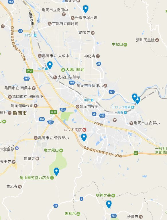亀岡盆地が太古は湖だった伝承を残す神社とは?のキャプチャー