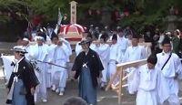 香取神宮の例祭と神幸祭 - 6年ごとの勅祭と、凱旋パレードが起源の12年ごと午年の式年祭のキャプチャー
