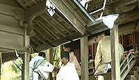 恵那神社 - 恵那郡第一の高峯、天照大神の胞衣を納めた地、夫婦杉の巨木と9月に恵那文楽