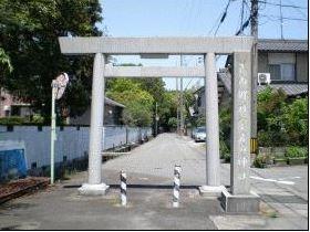 宇波刀神社 岐阜県安八郡神戸町のキャプチャー